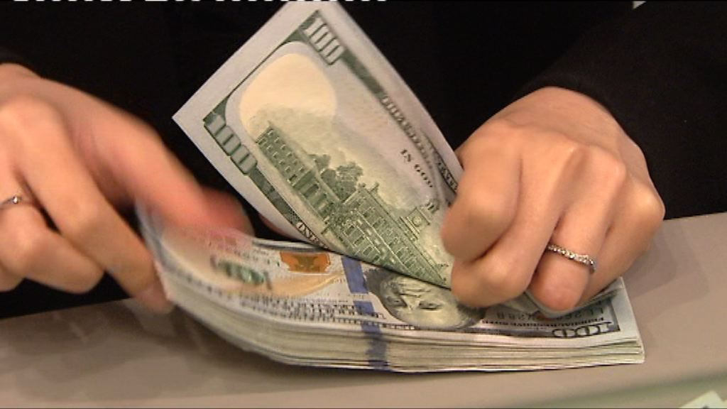美匯指數升上90 美元兌日圓升逾1%