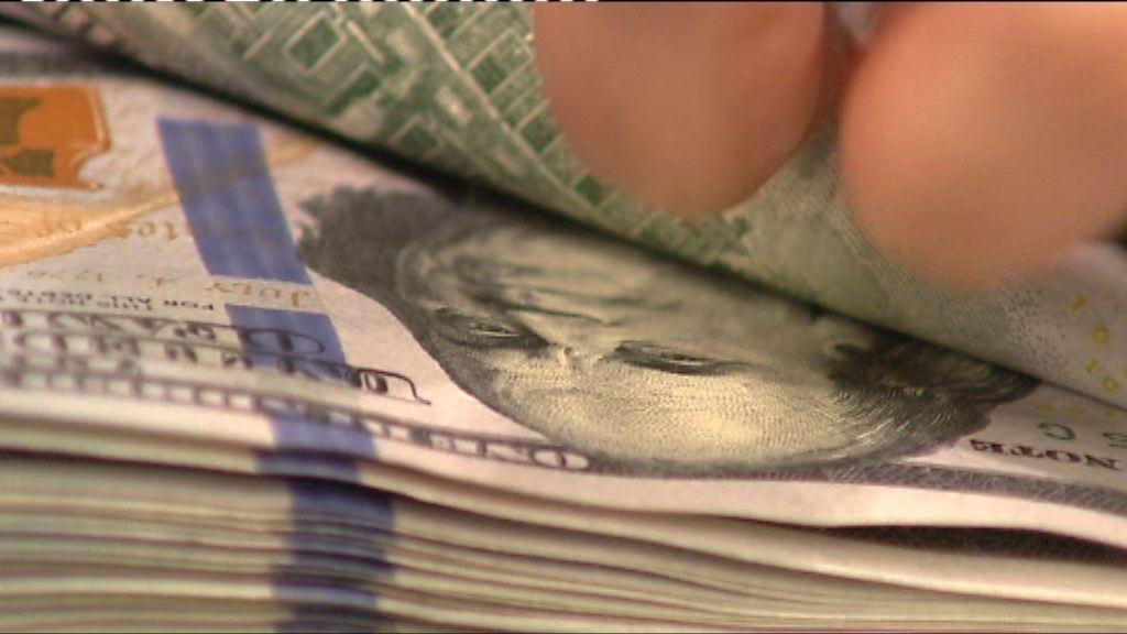 美國第3季GDP強勁 美元匯價造好