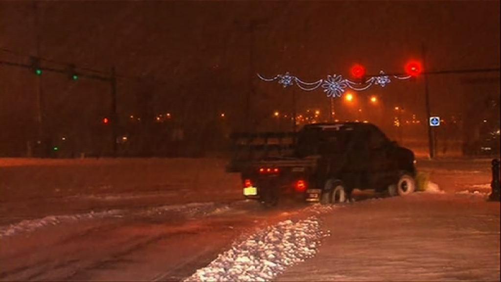 美國東岸續受暴風雪侵襲