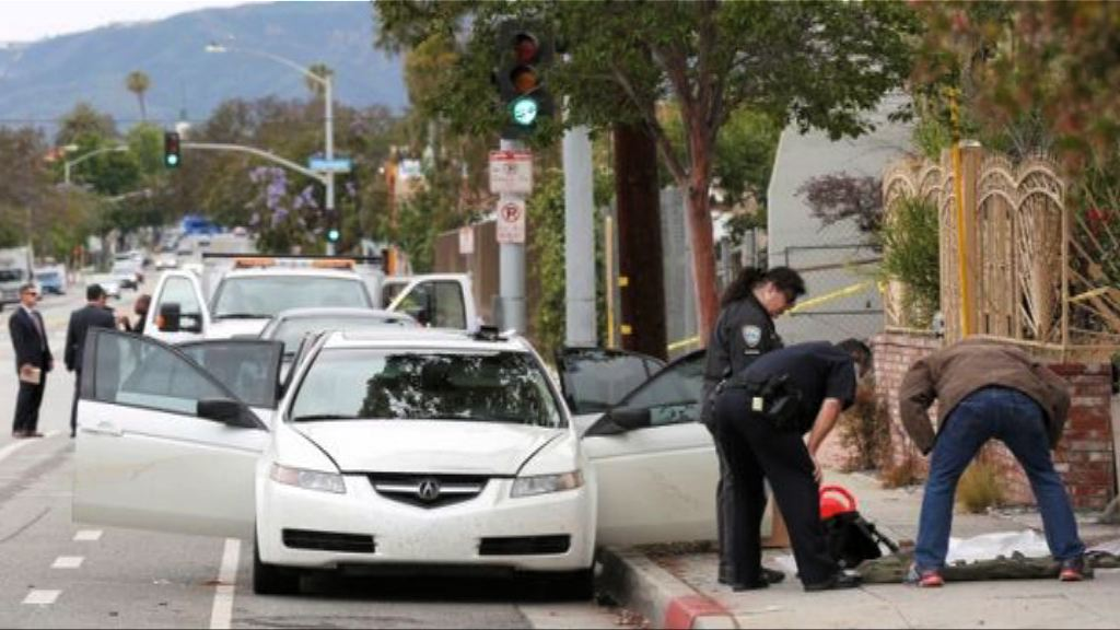 洛杉磯警方拘一男子檢獲武器爆炸品