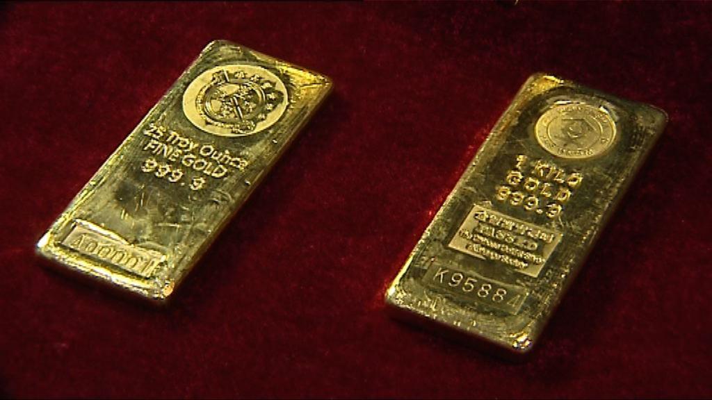 聯儲局漸進加息及美元下趺 金價上升