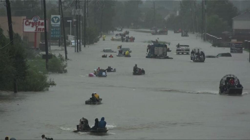 得州暴雨持續 災民恐慌情緒上升