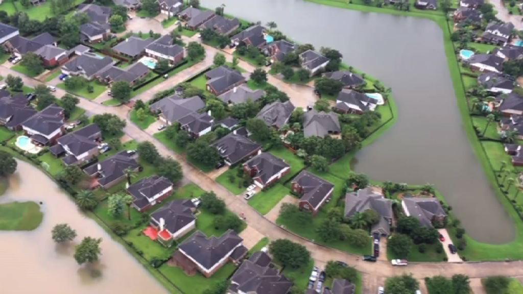 哈維再度登陸美國路易斯安那州 料再有大雨