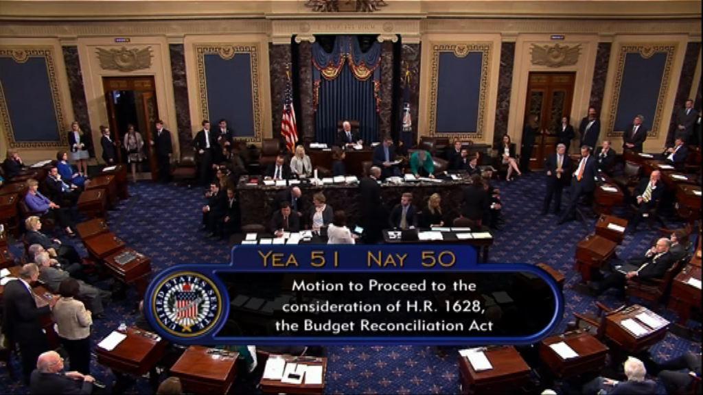 美國參議院通過展開辯論新醫保法案