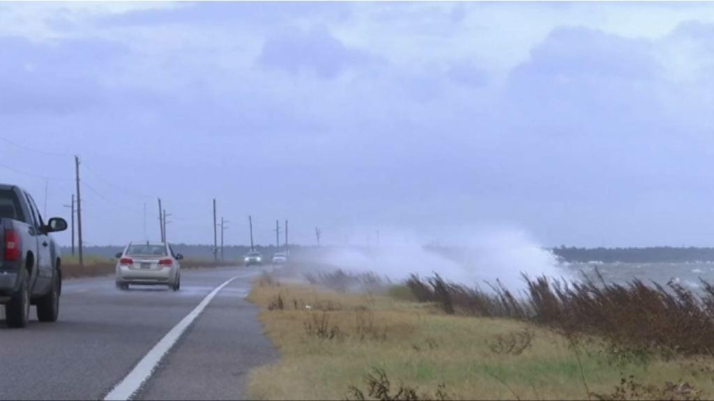 颶風納特於美國密西西比河河口附近登陸