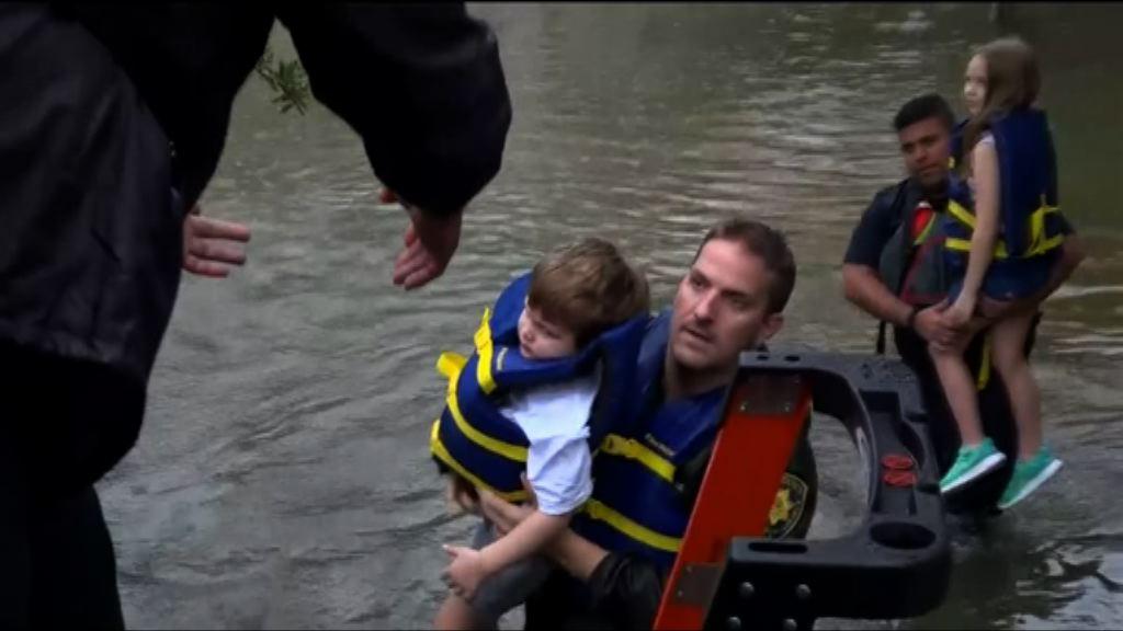 哈維帶來暴雨得州多處嚴重水浸