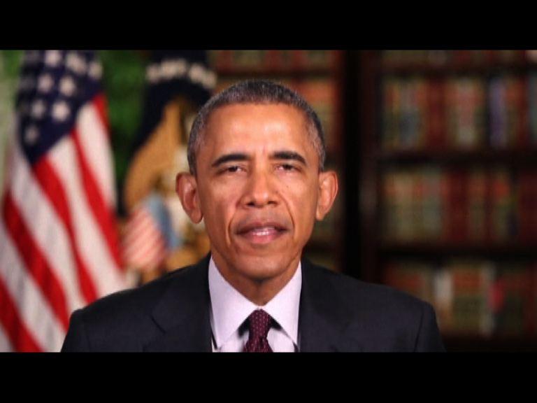 奧巴馬稱協議可阻伊朗發展核武