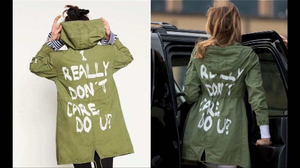 美國第一夫人外套惹爭議