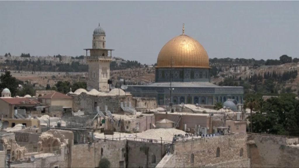 特朗普未決定將大使館遷至耶路撒冷