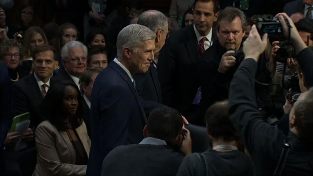 參議院就提名戈薩奇任大法官舉行聽證會