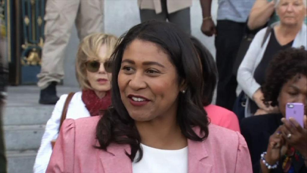 三藩市選出首位非裔女市長
