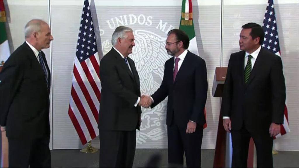 美國官員訪墨西哥冀緩和關係