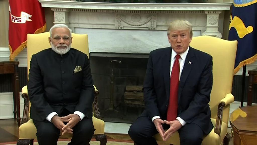 特朗普促印度放寬美國貨品限制