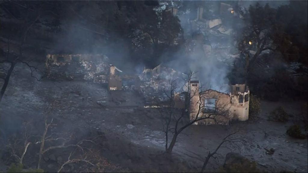 南加州暴雨致泥石流13死 官員指災場如戰場