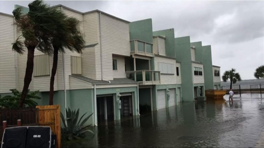 納特減弱為熱帶低氣壓 料美國多處仍狂風暴雨