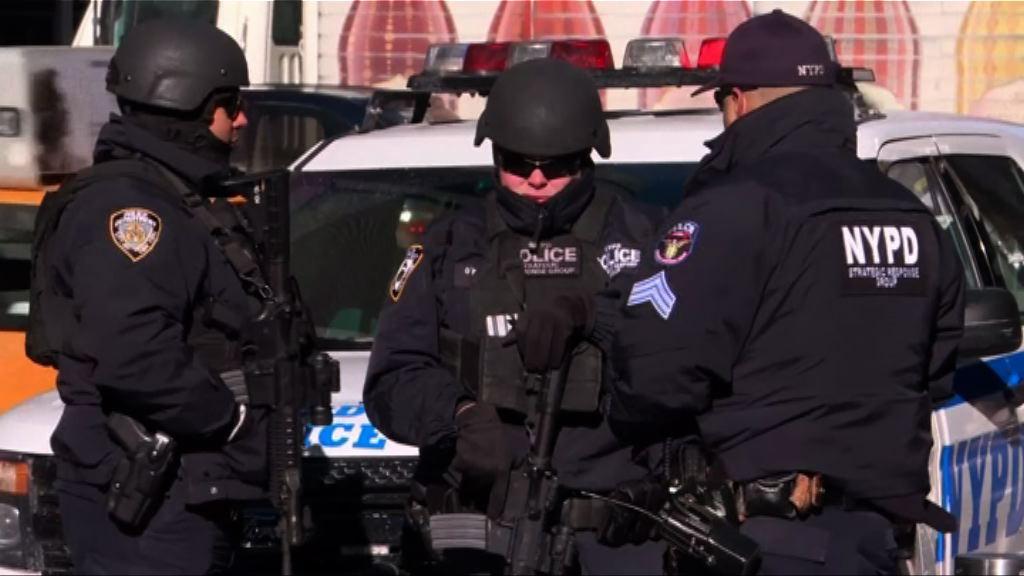 紐約時代廣場加強保安嚴防恐襲