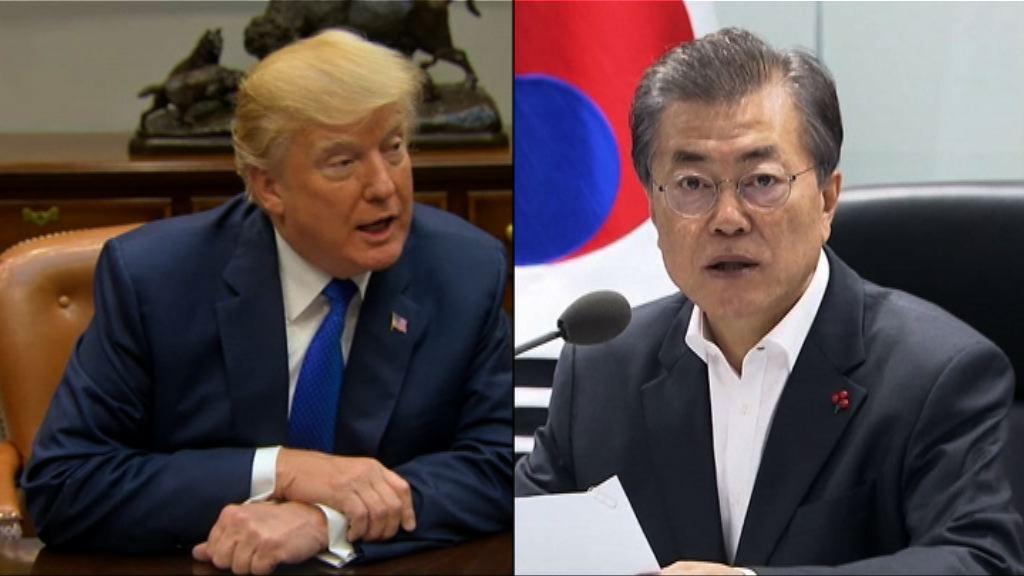 美韓元首再通電話商討北韓核威脅