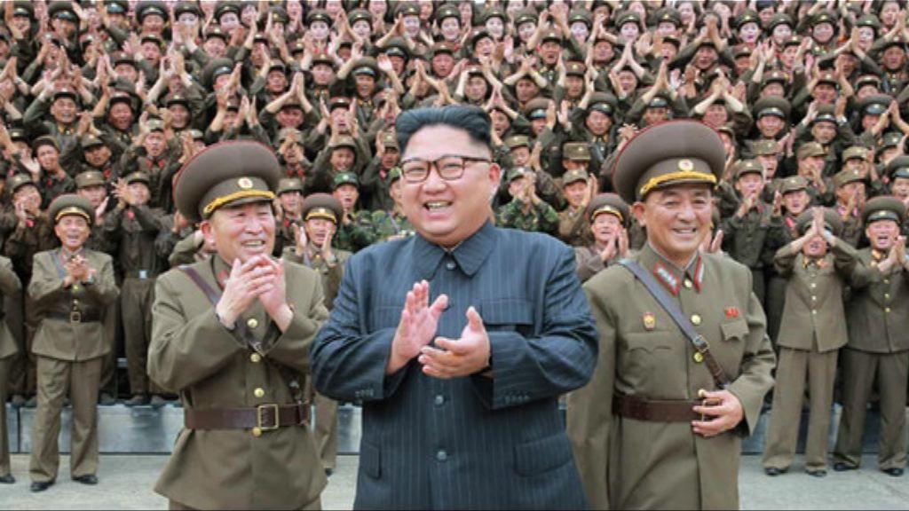 金正恩聽取攻擊關島近海報告