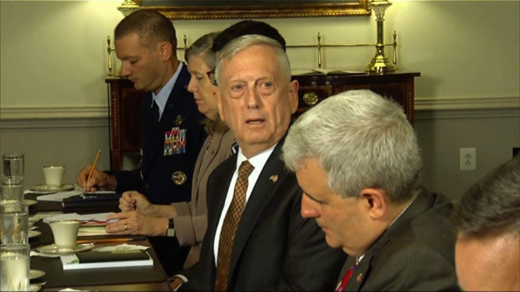 美國國防部警告導彈攻擊將觸發戰爭