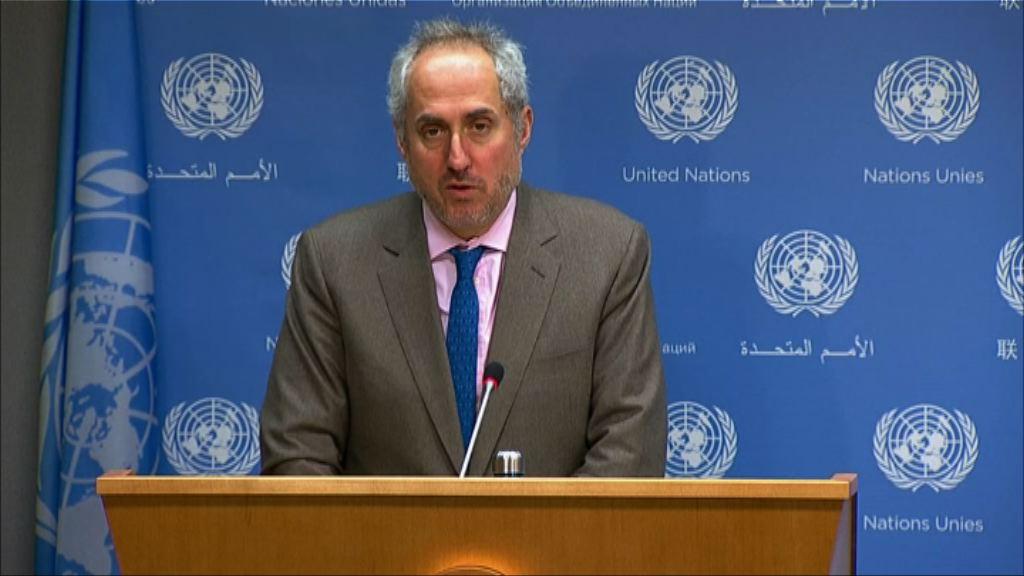 聯合國秘書長對美朝峰會感鼓舞