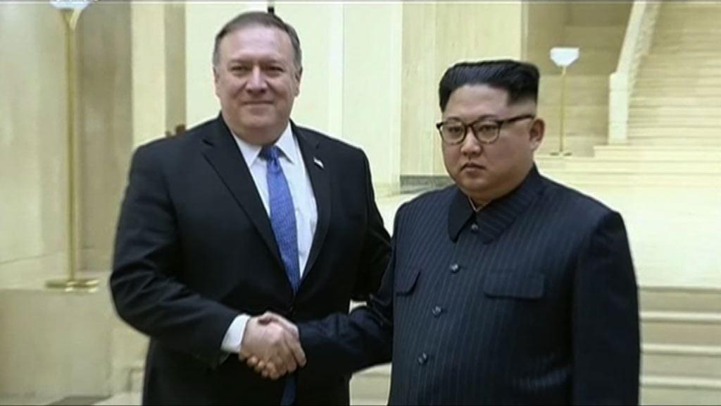 蓬佩奧周四訪問北韓三天