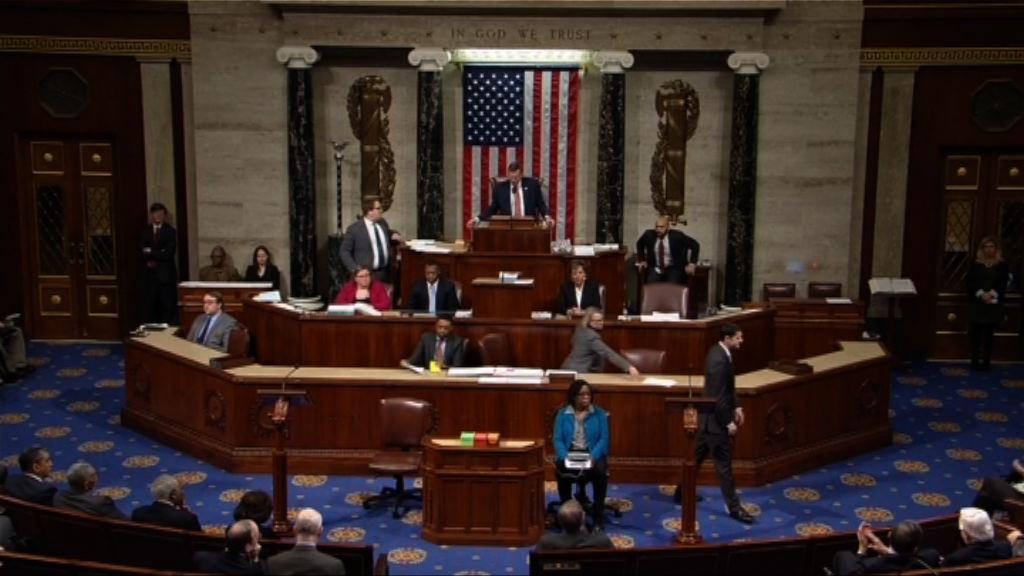 【兩院通過預算案】美政府料周一前回復運作