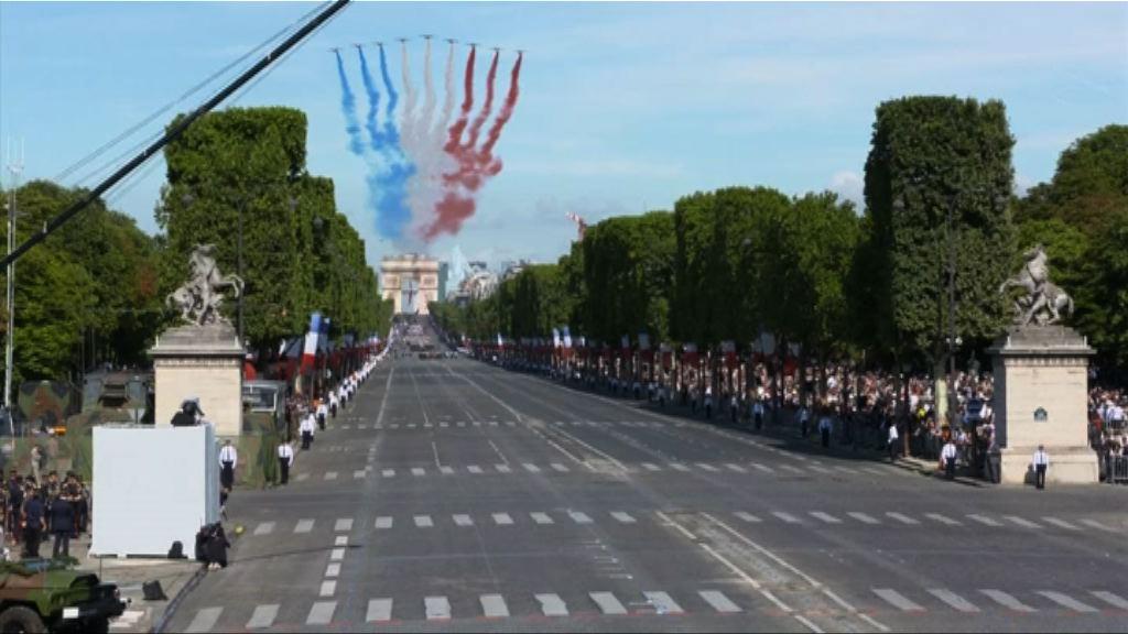 特朗普冀仿效法國舉行國慶日閱兵巡遊