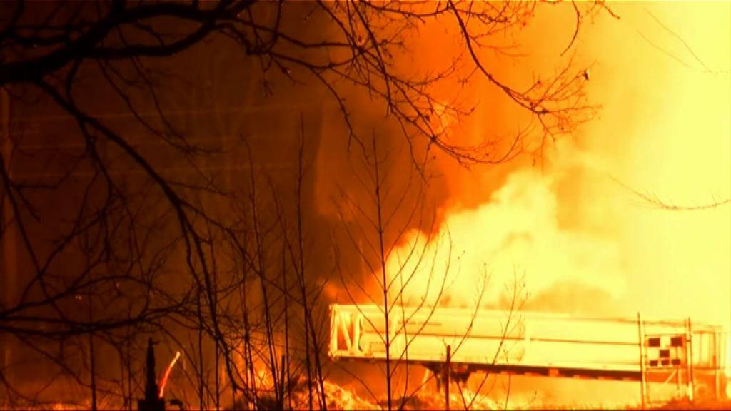 美國天然氣管道爆炸兩傷一失蹤