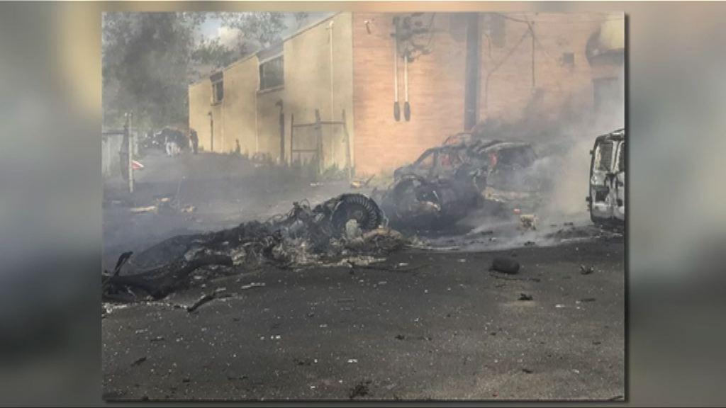 新澤西州小型噴射機墜毀兩人死亡