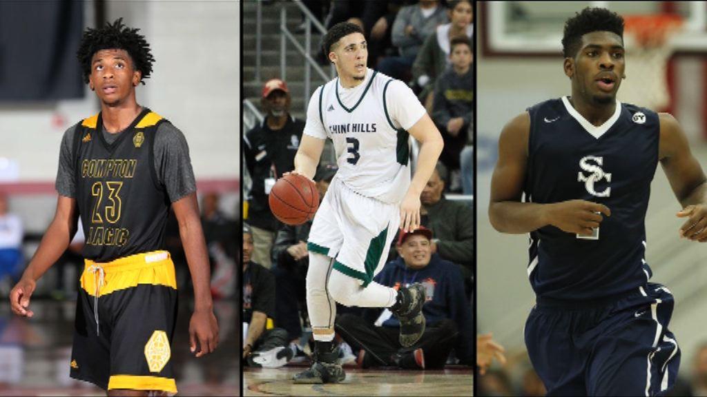 涉高買三美大學籃球員返抵洛杉磯