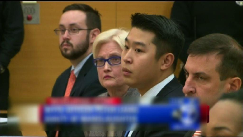 紐約華裔警員誤殺黑人罪名成立