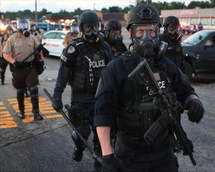 美國警察漸趨軍事化惹爭議