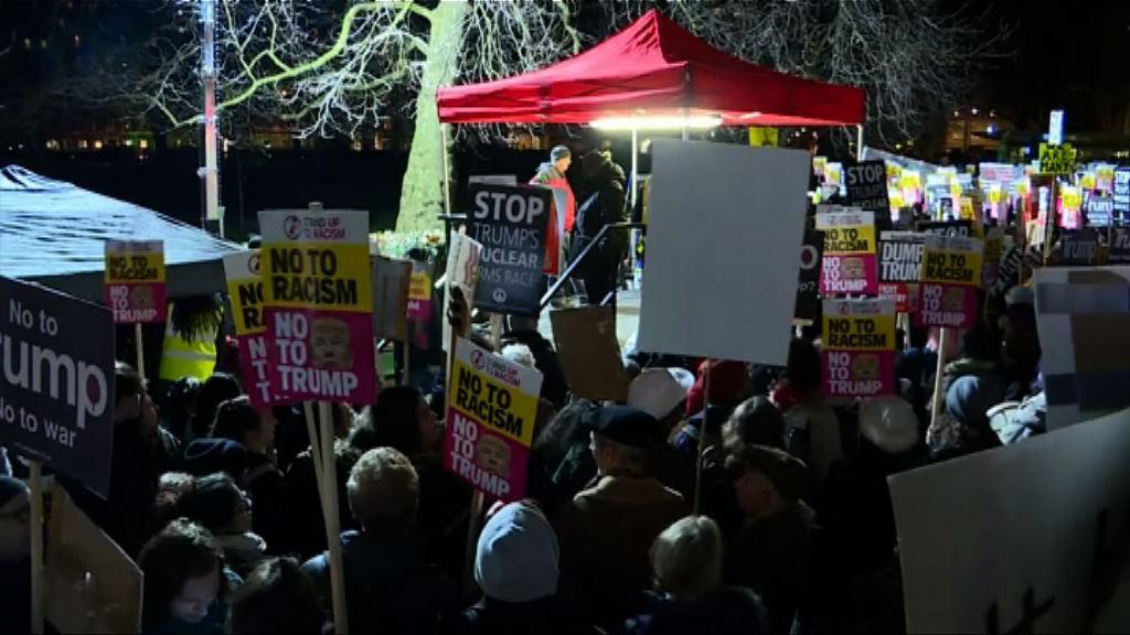 全球爆發反特朗普示威