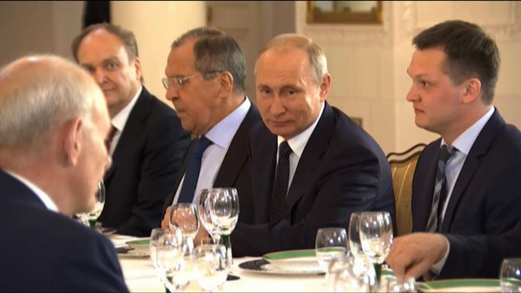 蓬佩奧:特朗普清楚俄干預行為
