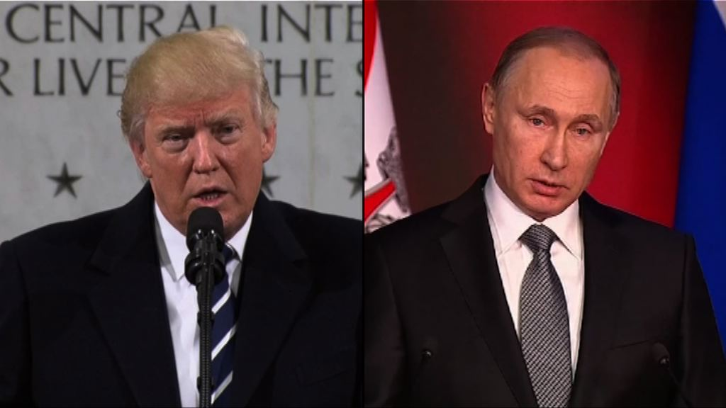 美俄元首將通電話 制裁問題成焦點