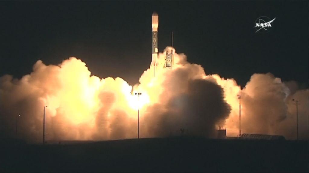 美國發射新的極軌氣象衛星