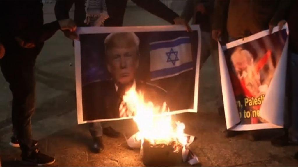 美國擬搬以色館大使館觸發示威