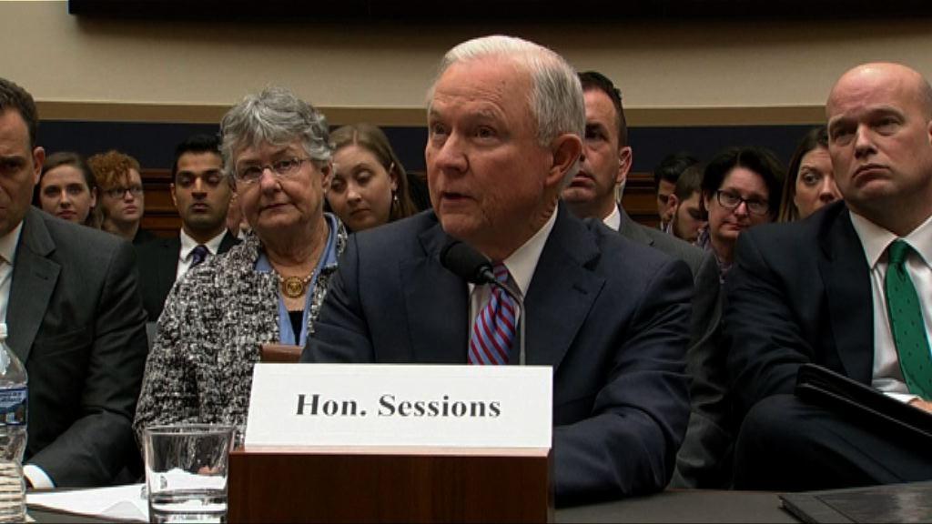 美國司法部長改稱曾與涉通俄人員見面