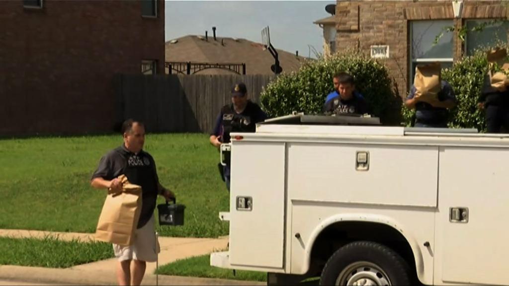 得州槍擊案槍手寓所搜獲炸彈物料和步槍