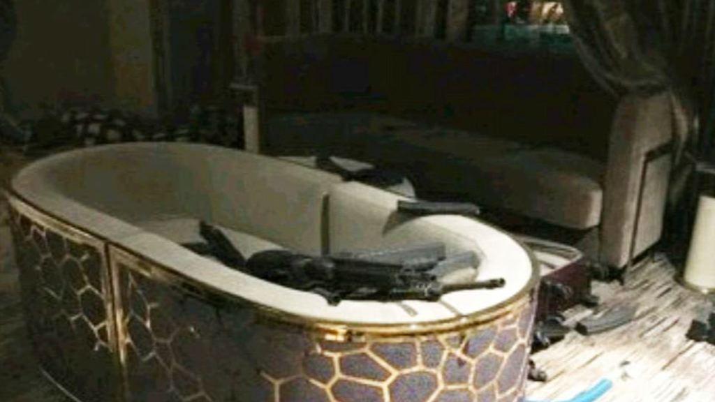 拉斯維加斯槍擊案 槍手酒店房間曝光