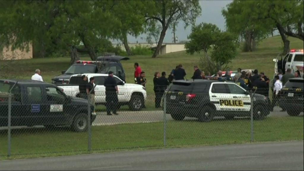 美得州空軍基地槍擊兩人死