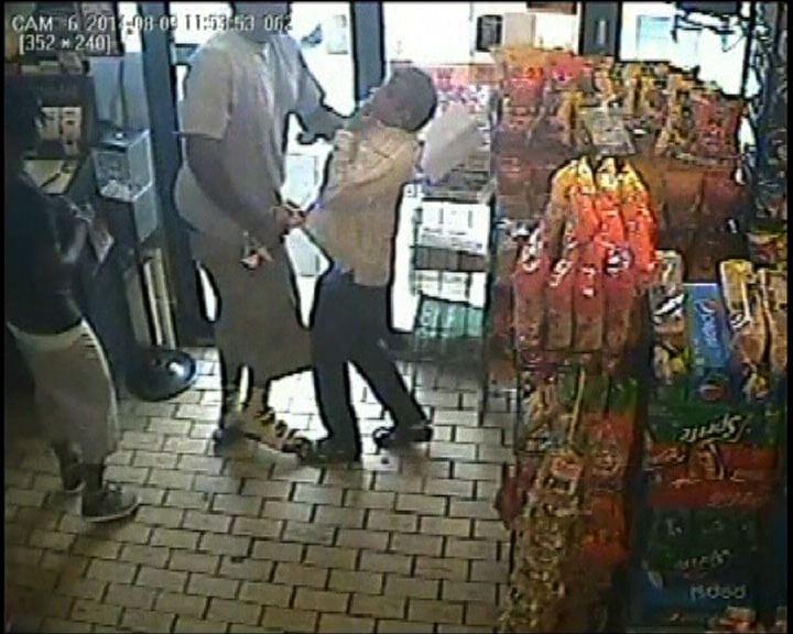 美國警方指被殺少年涉及盜竊