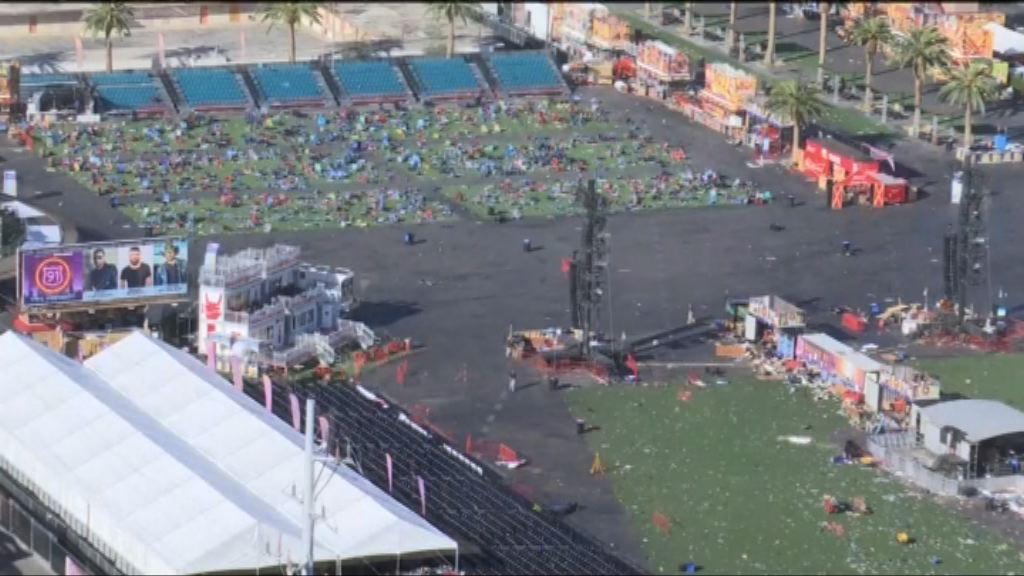 拉斯維加斯槍擊案 槍手疑曾計劃襲擊另一音樂節