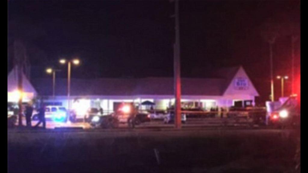 美國佛州槍擊案據報有死傷