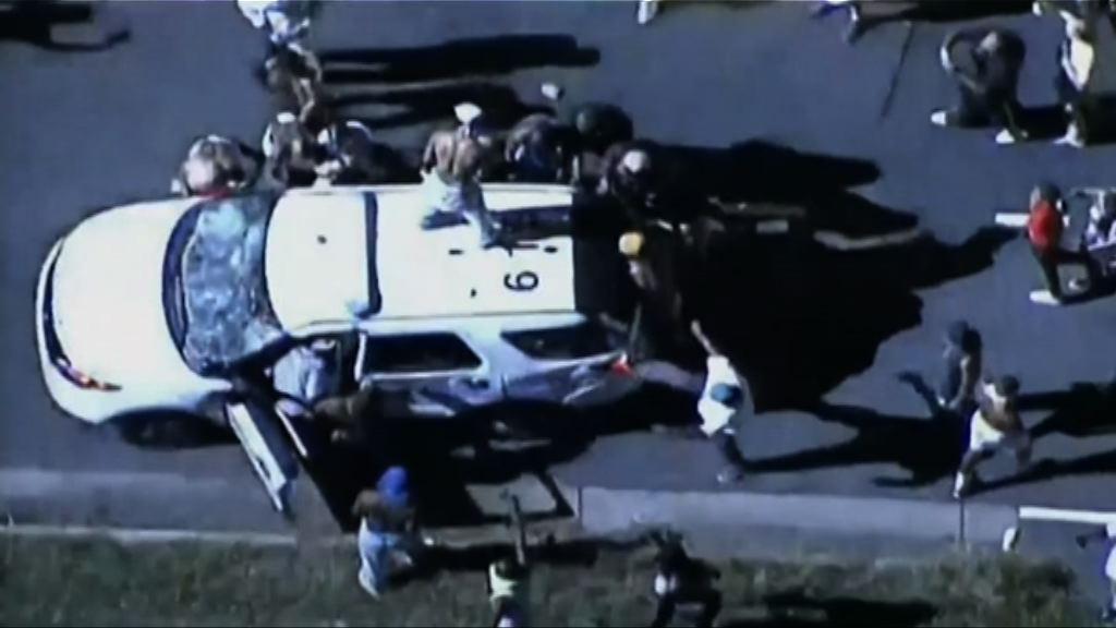 美北卡州警員射殺黑人觸發示威