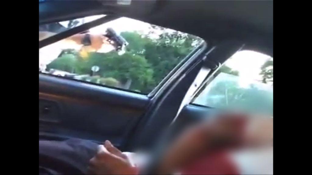 美國連續兩天有黑人遭警員擊斃