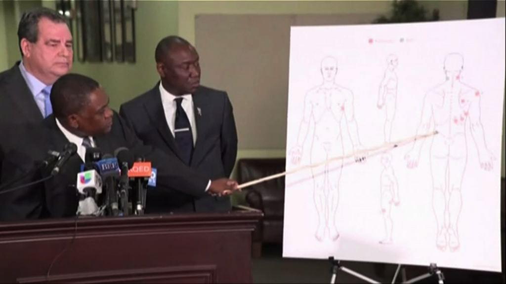 美遭擊斃黑人驗屍報告與警證詞有異