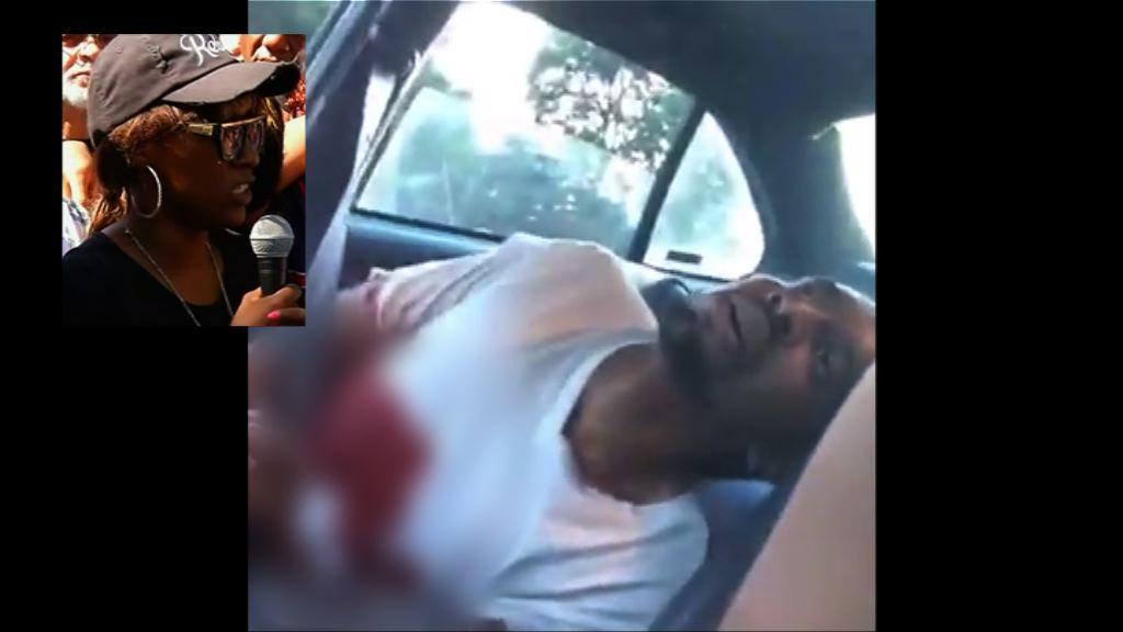 美黑人被警槍殺 死者女友:警員沒急救