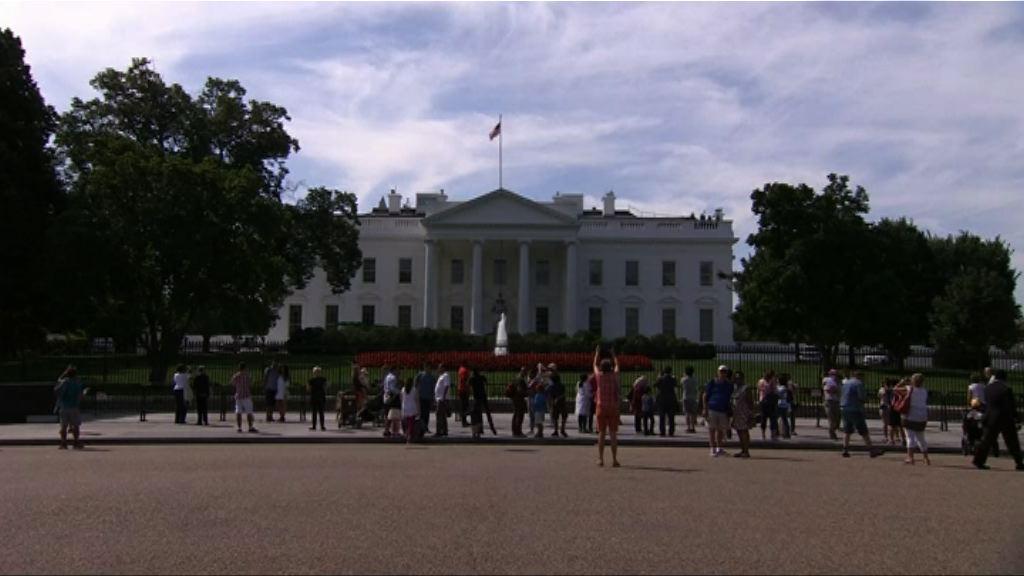 白宮發言人:華府停擺的可能性一直存在