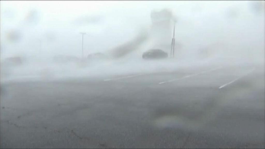 美國東部受風暴吹襲 多處破壞嚴重